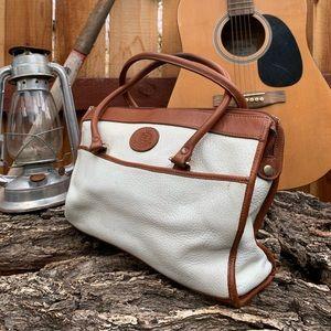 Vintage Mervyns Partners Leather Handbag.
